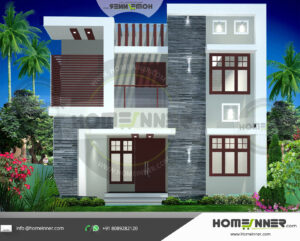 HIND-51059 house plan Rooms Amenities
