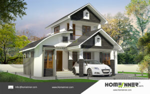 1418 sq ft House plan