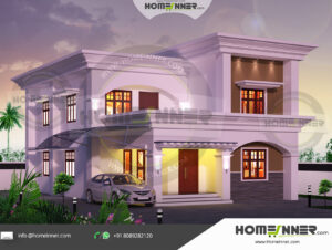 HIND-21205 Home Design Free Estimate villa construction budget