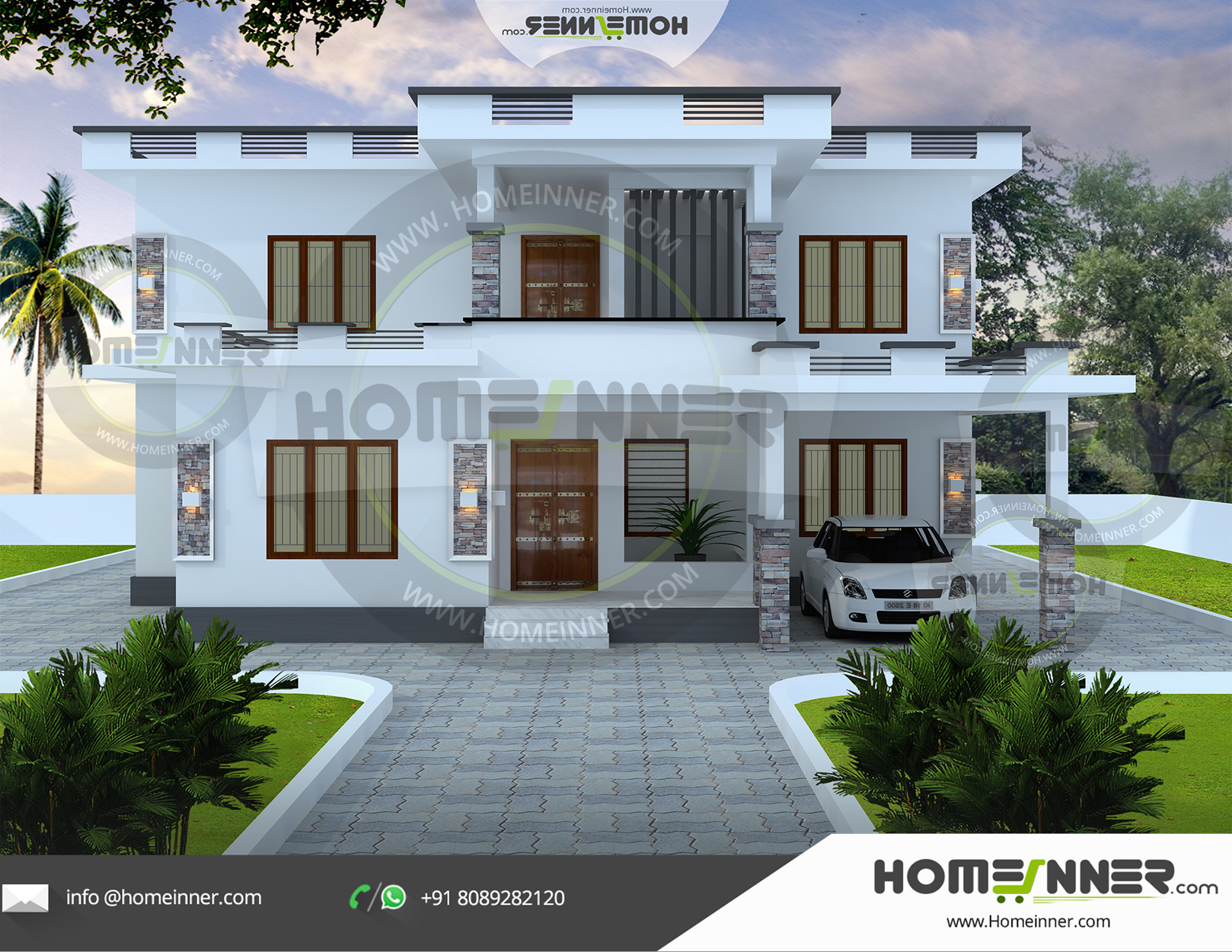 Nashik 25 Lakh 4 BHK 2122 sq ft Villa house plans