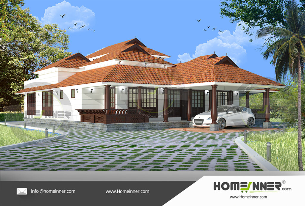 Djibouti Home design residential architecture 3 BHK 2627 sq ft villa house plans