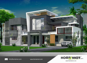 Flower Mound Home design residential architecture 5 BHK 3622 sq ft villa house plans