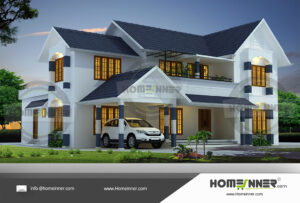 Hanford Home design residential architecture 5 BHK 3092 sq ft villa house plans
