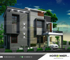 Flagstaff Home design residential architecture 4 BHK 1804 sq ft villa house plans