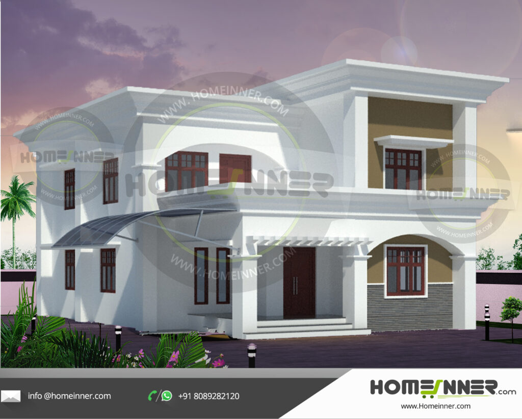 Haryana Home design residential architecture 5 BHK 2190 sq ft villa house plans